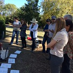 Field Watercolor class at the Huntington Library, 11/15/2015