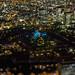 青い大阪城