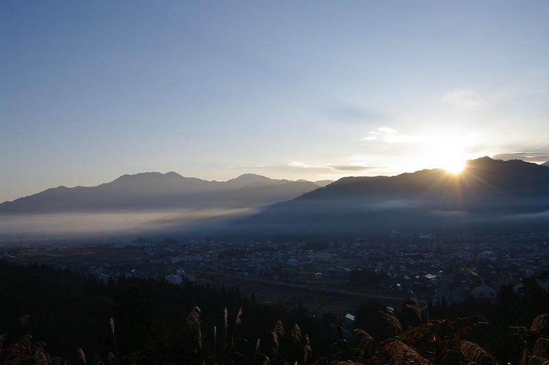 坂戸山から朝日が昇る #2_201510_NO3