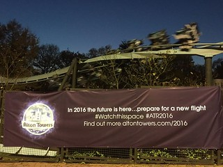 #AIR2016 banner advertsing a new flight for 2016