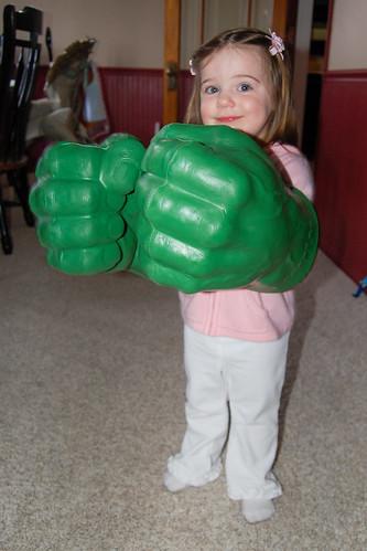 Hulk Hands!