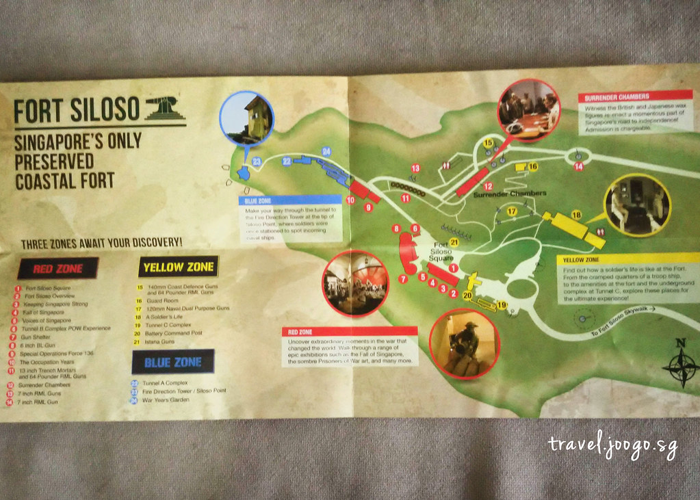Fort Siloso Map - travel.joogo.sg