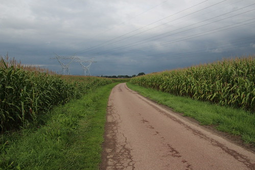 wandelweg oost-west