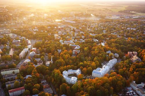 europe estonia sundown aerialview special eesti tartu estland loojang sunsetporn photoimage sooc sonyalpha tartumaa sonyα geosetter geotaggedphoto nex7 фотоfoto year2015 selp1650