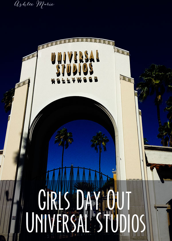 What do you do in LA when you have a whole day free with your girlfriends? spend the day at universal studios! great rides, characters, food, fun for all