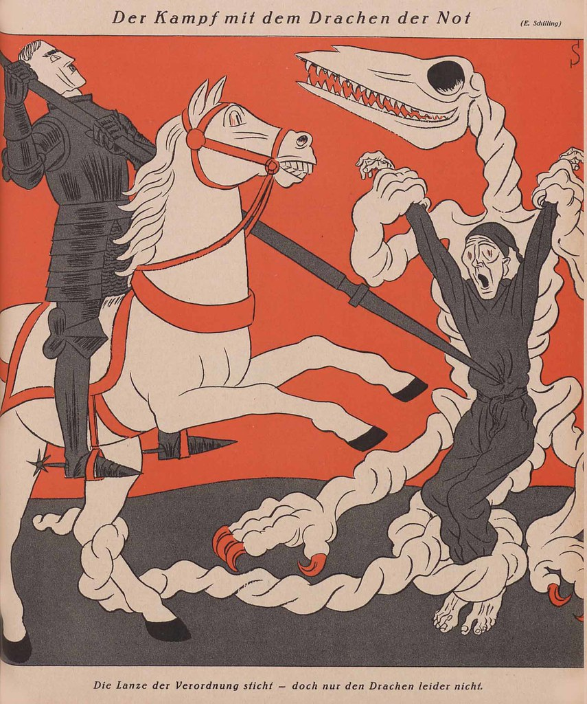 Erich Schilling - The Battle With The Dragon Of Distress, 1932
