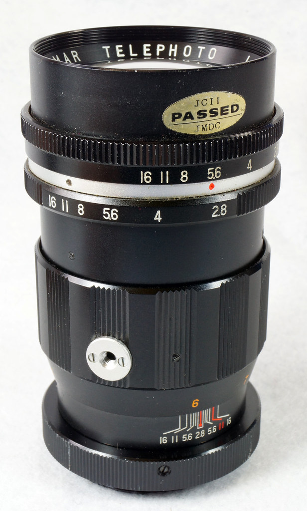 RD15090 Vintage Vemar Telephoto Zoom Camera Lens 1_2.8 f = 135mm No. H50403 Ricoh Mount DSC07450