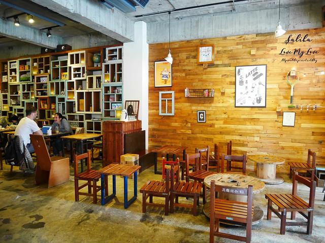 台北小巨蛋站不限時咖啡館餐廳小破爛咖啡CAFE JUNKIES (4)