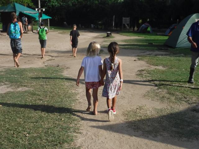 Rachel and Maria Alejandra