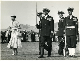 Queen Elizabeth II, Waitangi (December 28 1953)