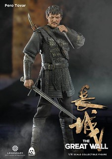 threezero 長城【派洛.托瓦爾】The Great Wall Pero Tovar 1/6 比例人偶作品