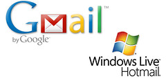 The modern features of Hotmail