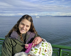 ferry ride to Whidbey Island