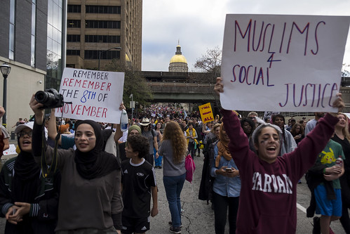 Scenes from the March for Social Justice