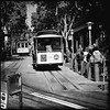 Cable car #hipstamatic  #JohnS #RockBW11 #Standard