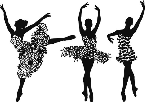 Papercut ballerina patterns