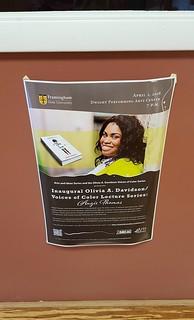 Poster - Angie Thomas at FSU