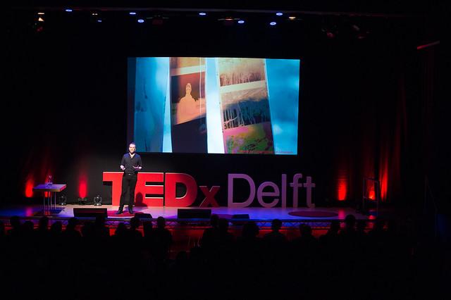 TEDx Delft 2018-8, Nikon D4S, Sigma 70-200mm F2.8 EX DG OS HSM