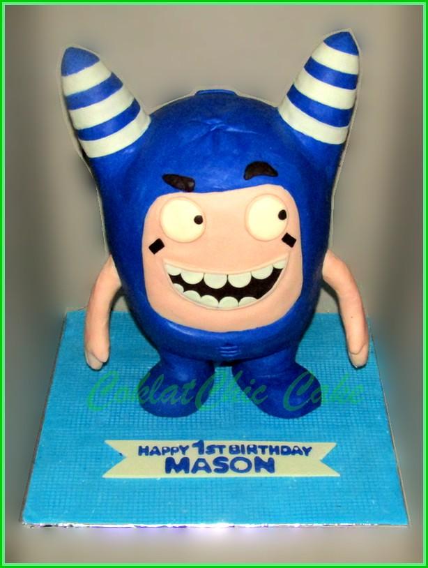 Cake Oddbods Pogo MASON 30 cm