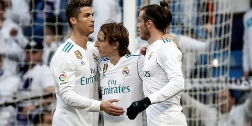 Ronaldo , Bale dan Modric tidak bermain saat melawan Malaga