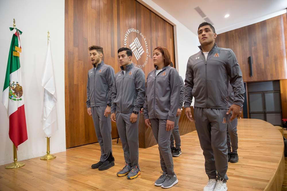 Abanderamiento para Universiada Nacional 2018 / Ciencias del Deportes Campus Sur