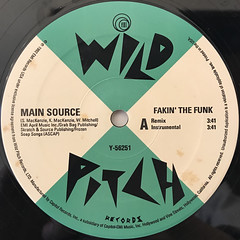 MAIN SOURCE:FAKIN' THE FUNK(LABEL SIDE-A)