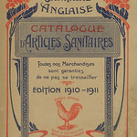 Mon, 2009-07-06 22:42 - Catalogue d'Articles Sanitaires 1910-1911. Unfortunately the first page, which might have revealed the name of the issuing company, has been torn out of my copy and I cannot identify the French trade mark. So the catalogue remains a bit of a mystery to me. Some of the 'articles sanitaires'  identified by name (mostly W.C. Pans) are made by Johnson Bros. of Hanley, Staffordshire, England.
