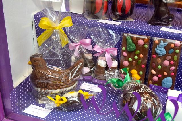 Shop Window at Madame Oiseau, Canterbury #chocolate #canterbury