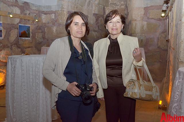 Sille Sanat Sarayı fotoğrafçılarından Fatma Gökmen, Ayla Ciritoğlu