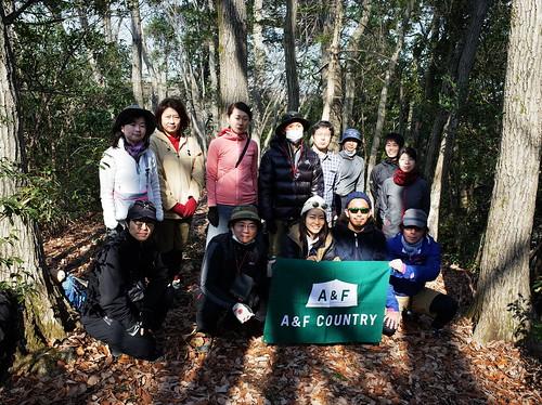 A&Fカントリー関東野外イベント「HILLEBERGテント、ソロタープ設営ハイキング」