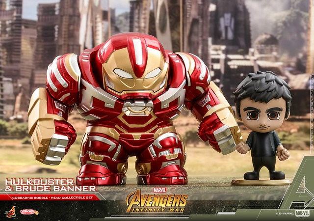 把可怕的反派們全都萌化~~ Hot Toys - COSB431-451《復仇者聯盟3:無限之戰》Avengers: Infinity War Cosbaby (S) Bobble-Head Series