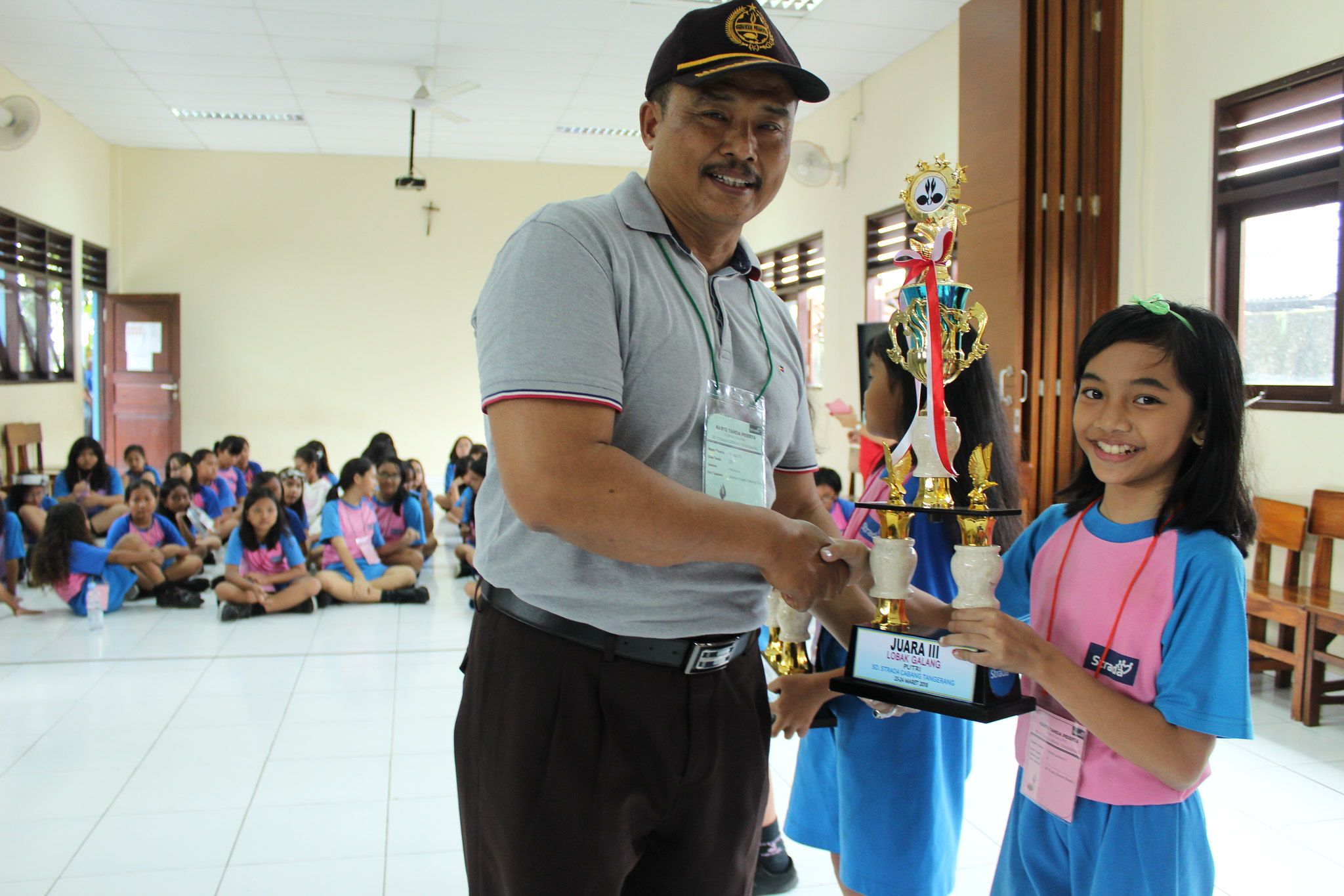 Juara III Pramuka Penggalang