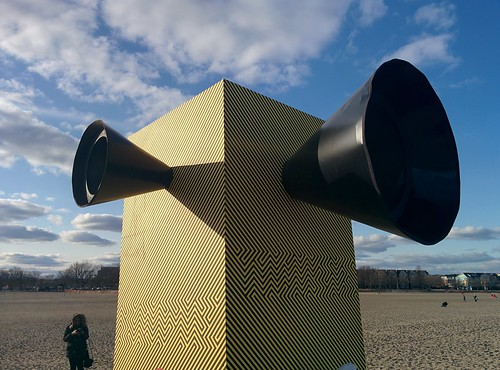 Make Some Noise!!! (3) #toronto #winterstations #beaches #woodbinebeach #makesomenoise #publicart #latergram