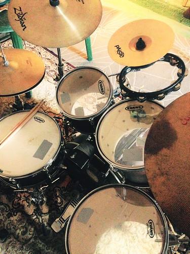 Mi batería Yamaha Stage Custom :--)