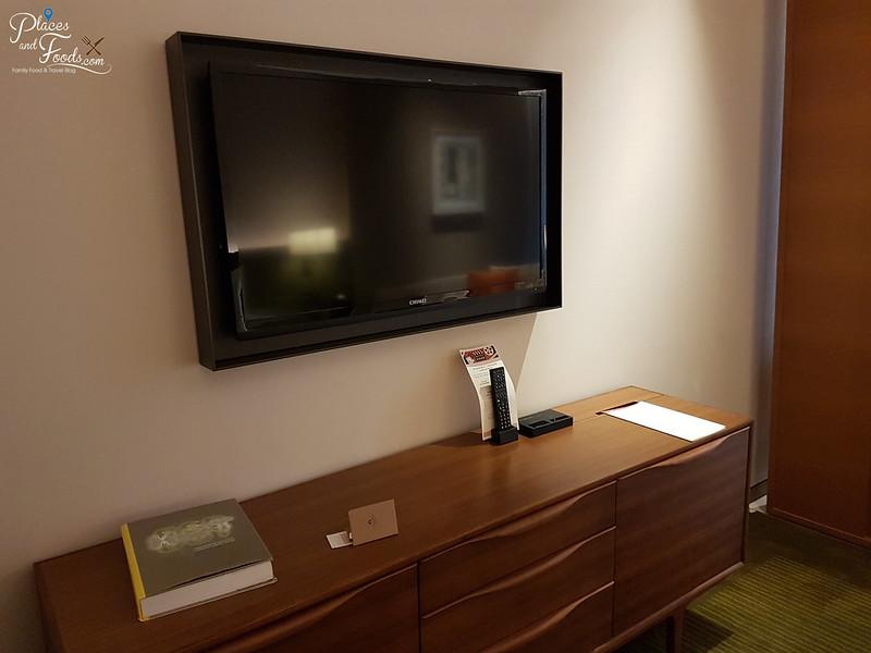 eslite hotel room TV