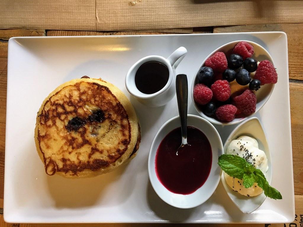 Pancakes at Citizen cafe