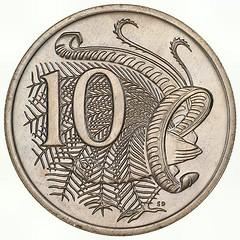 Australia 10c 1966