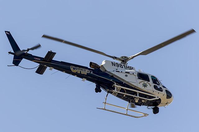 California Highway Patrol Airbus Helicopter AS350B3 N981HP