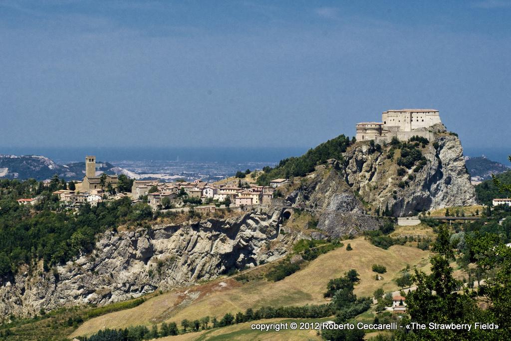 Panorama del borgo di San Leo