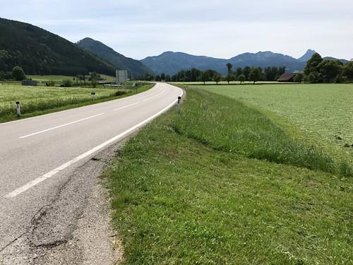 Heading toward Gmunden