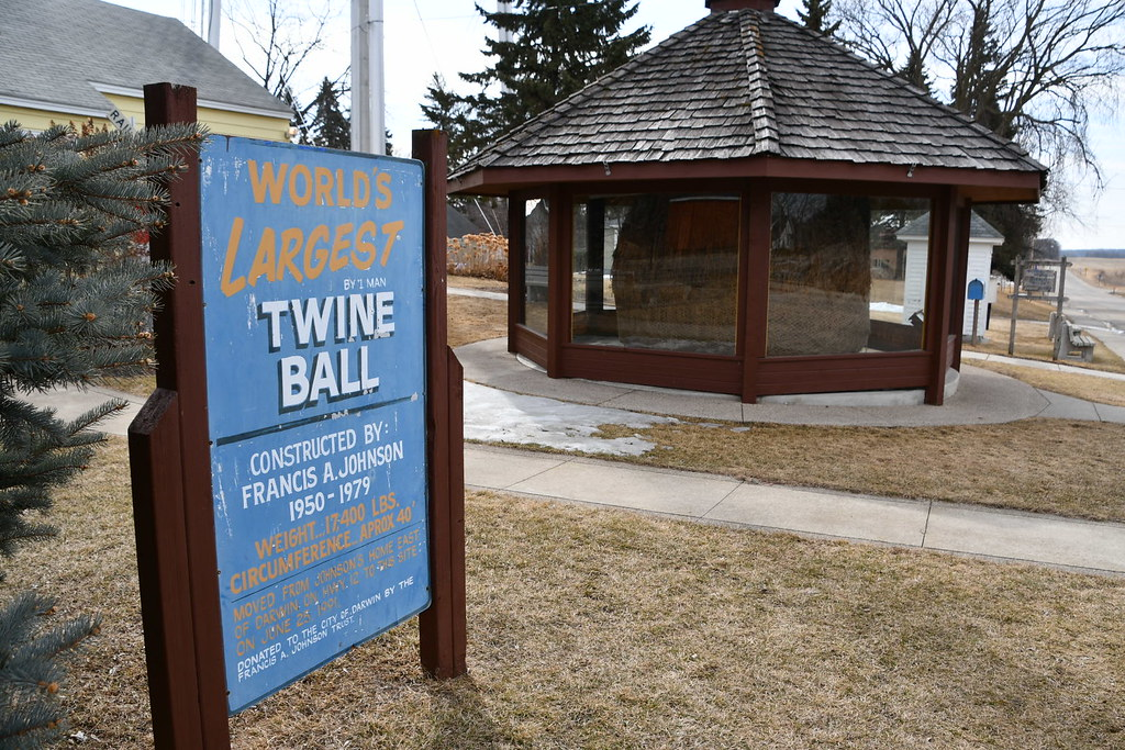 Biggest Ball of Twine in Minnesota, Darwin, MN