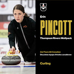 Erin Pincott 2nd team USPORTS All-star (Mar 28, 2018)