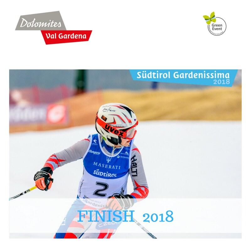 FINISH Südtirol Gardenissima 2018