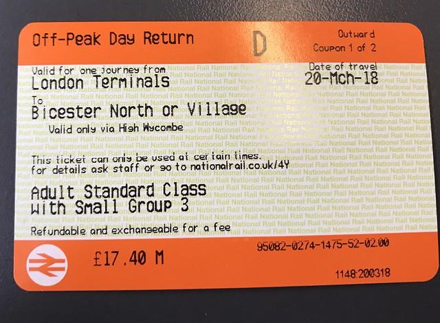 Bicester Village ticket