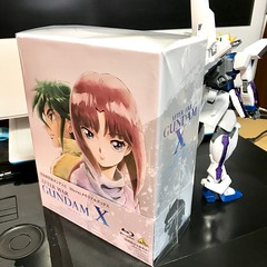 Memorial Box Mobile New Century Gundam X Blu-ray -display