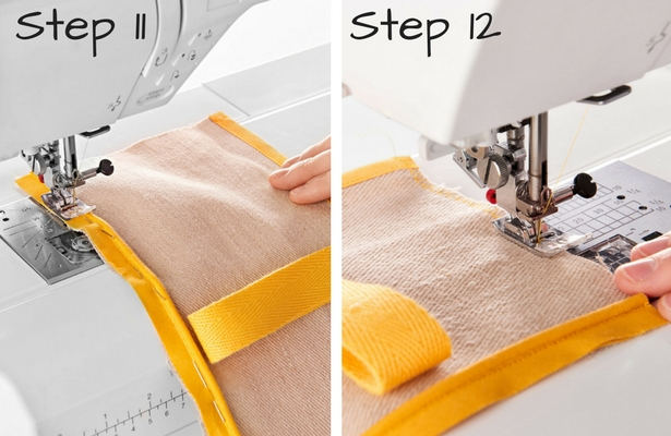 DIY Smoothie Bag Steps 11 12