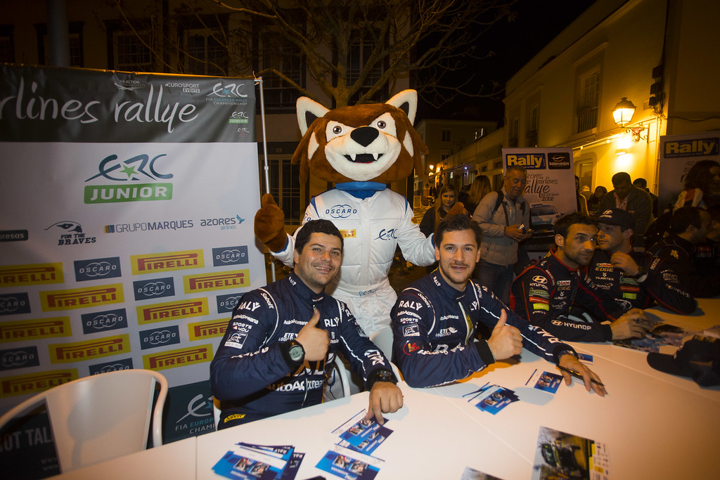 31 SOUSA Bernardo (prt), CARDOSO Walter (prt), RALY AUTOAÇOREANA RACING, CITROEN DS3 R5, portrait Percy ambiance, during the 2018 European Rally Championship ERC Azores rally,  from March 22 to 24, at Ponta Delgada Portugal - Photo Gregory Lenormand / DPPI