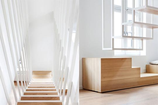 03 stairs wood design escalera madera diseño