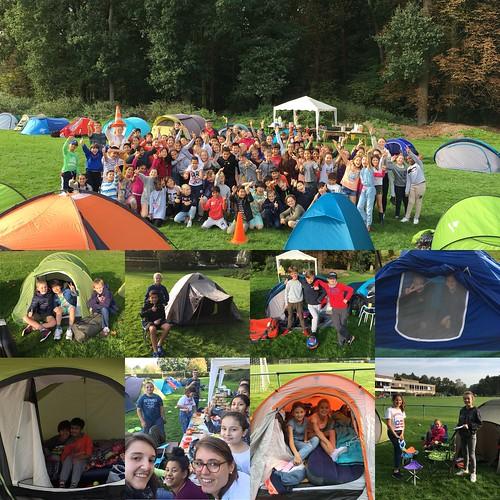 5de leerjaar: kamperen