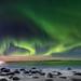 Polarlicht am Uttavlei, Lofoten by wal50wol